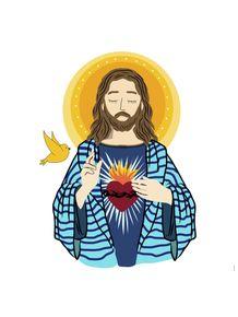 quadro-sagrado-coracao-de-jesus