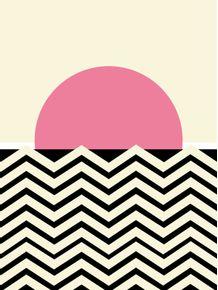 quadro-pink-sunset-fuzz