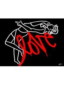quadro-grafitti-love