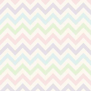quadro-padrao-geometrico--tons-pastel-ii