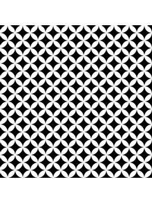 quadro-padrao-geometrico--preto-e-branco-i