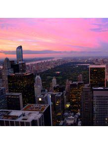 quadro-central-park-sunset