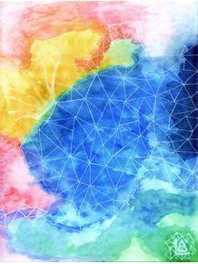 quadro-lisergia-geometric-watercolor-glaciers-4