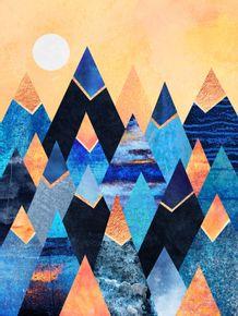 quadro-blue-mountains
