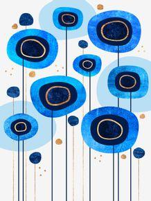 quadro-floral-blues