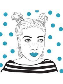 quadro-blue-lips