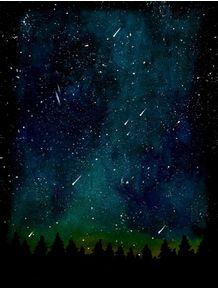 quadro-galaxy-night