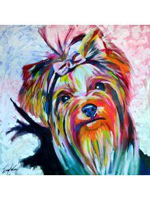 quadro-yorkshire-dog