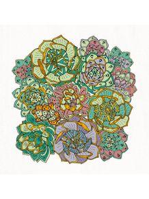 quadro-succulents-love