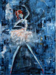 quadro-ballerina-en-bleu-i