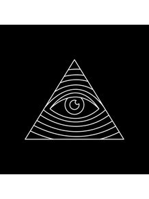 quadro-olho-piramide-black