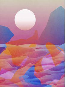 quadro-hazy-sunset