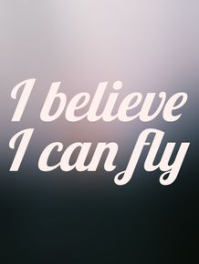 quadro-i-believe-i-can-fly