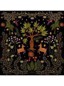 quadro-floresta-negra-folk-art