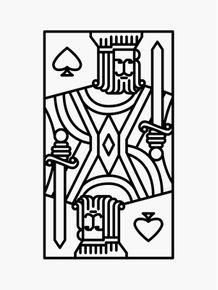 quadro-rei-de-espadas