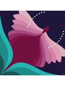 quadro-flower-butterfly
