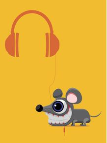quadro-rato-dj