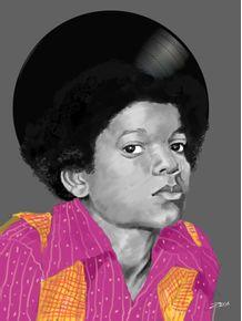 quadro-michael-jackson-sing