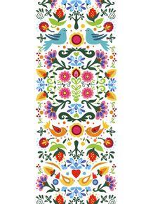 quadro-flower-folk-art-branco