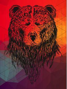 quadro-urso-in-colors