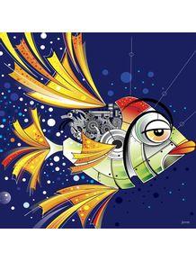 quadro-peixe-mecanico