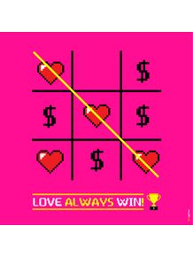 quadro-love-always-win