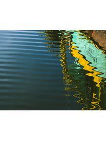 quadro-mar-verde-amarelo-i