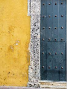 quadro-porta-antiga-verde