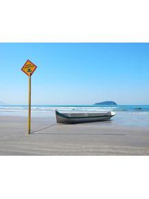 quadro-canoa-na-praia