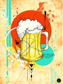 quadro-urban-beer--wit