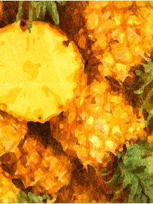quadro-frutas--abacaxi