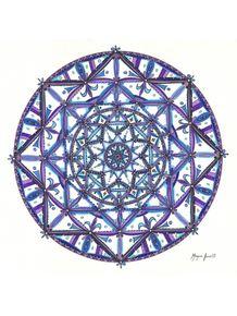 quadro-mandala-azul-e-roxa
