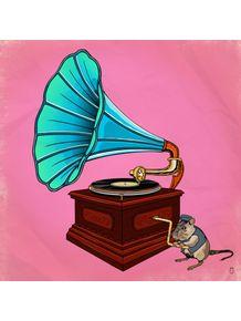 quadro-gramofone-e-mascote-ii