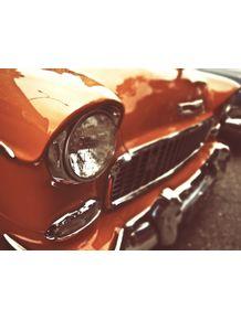 quadro-old-car-vermelho
