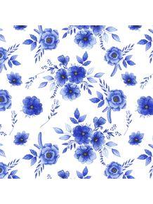 quadro-floral-blue