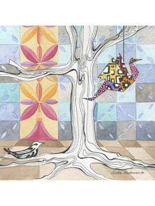quadro-tsuru-colorido
