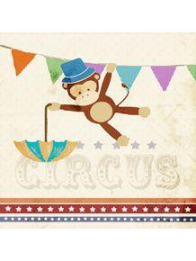 quadro-circus-macaco
