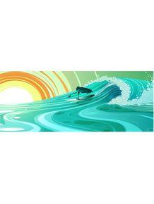 quadro-surf-sunset