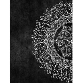 quadro-mandaleaf--black