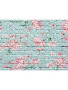 quadro-tijolo-floral