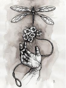 quadro-mao-e-libelula