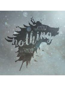 quadro-you-know-nothing-jon-snow