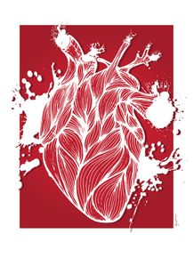 quadro-heart-red--gaforina
