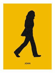 quadro-abbey-road--john