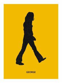 quadro-abbey-road--george