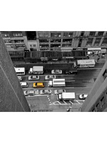 quadro-taxi-amarelo