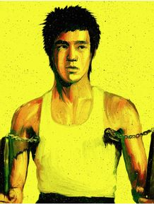 quadro-bruce-lee--the-way-of-the-dragon