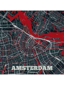 quadro-mapa-de-amsterda