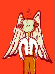 quadro-anjo-vermelho
