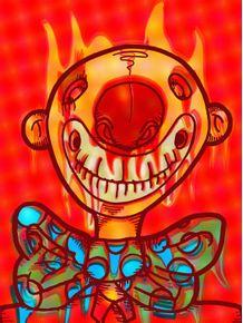 quadro-fire-clown